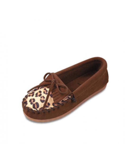 Leoparden Mokassin - für Kinder Gr. 24-26