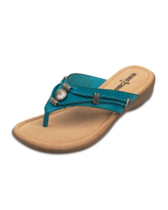 "Sandale ""Silverthorne"" in Türkis"