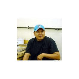 Navajo Künstler JJ