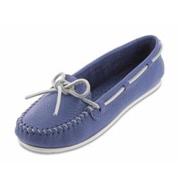 """Glattleder """"Boat Moccasins"""" ocean Blue Gr. 37"""
