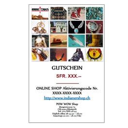 Geschenks-Gutschein ONLINE einzulösen, in pdf Format