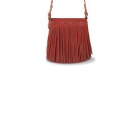 Handtasche MINI aus Glattleder, rot