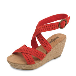 "Sandale ""Haley"" in hellem Rot Gr. 36 1/2 und 39"