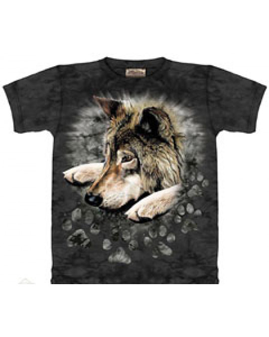 """Wolf in Dye Paw"" Kinder T-Shirt"