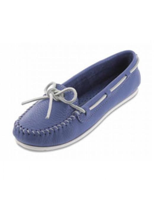 """Glattleder """"Boat Moccasins"""" ocean Blue"""