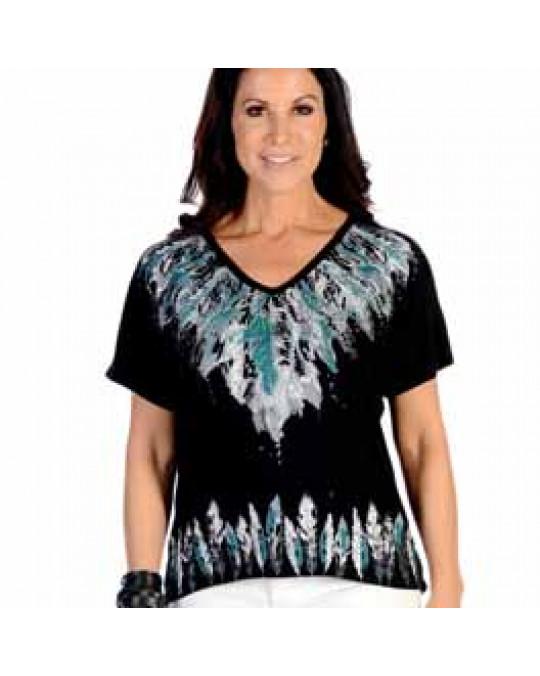 """""""Many Feathers"""" Damen T-Shirt"""