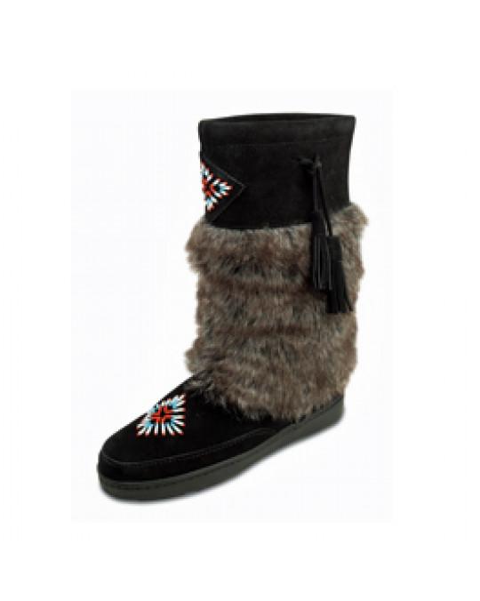 """Winter Stiefel """"Mukluk"""" warm gefüttert, schwarz, Gr. 36 oder 38"""