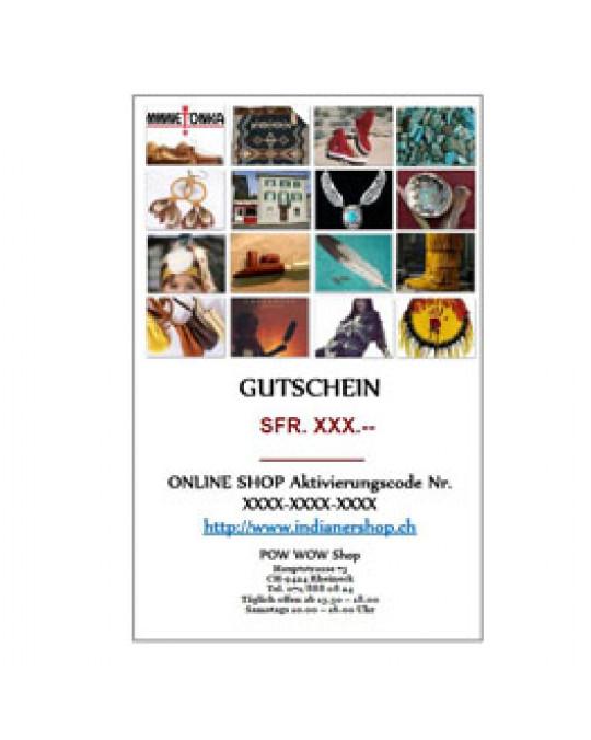 !Online Geschenks-Gutschein ONLINE einzulösen, in pdf