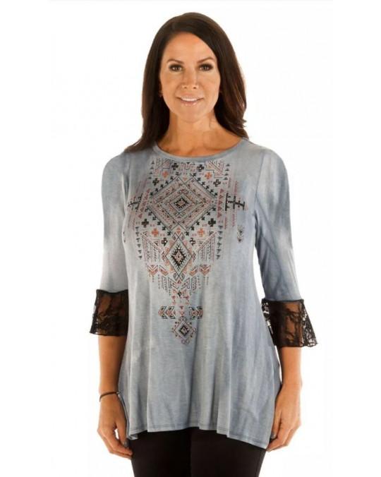 """Tribal Print"" Damen T-Shirt"