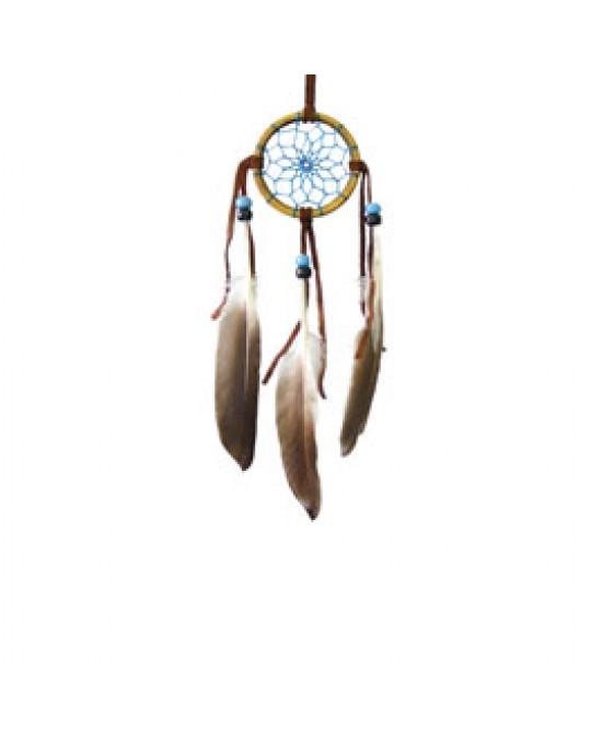 Mini Traumfänger der Navajo, Bambus Ring