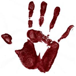 Pow Wow Hand Logo